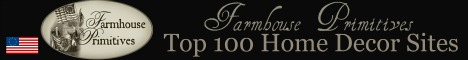 Farmhouse Primitives Top 100 Home Decor and Gift Sites